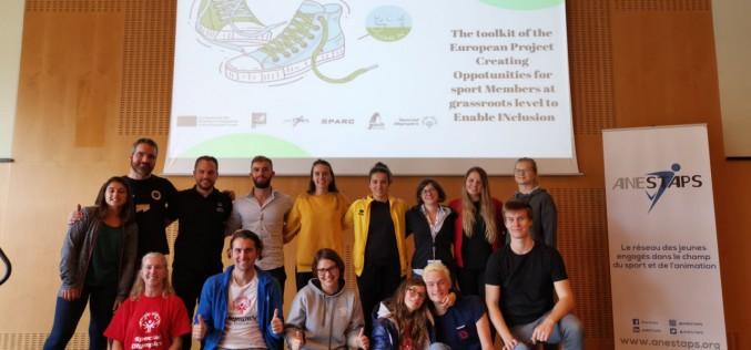 A Nantes presentato il toolkit del progetto COME In
