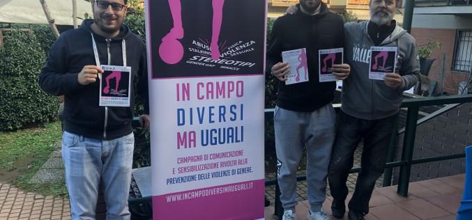 """Le tappe di """"In Campo Diversi ma Uguali"""" nella giornata del 25 novembre"""