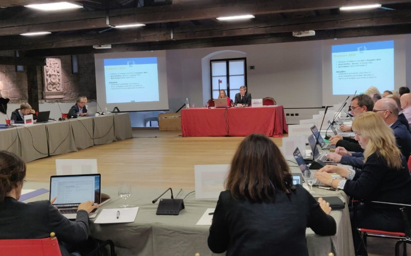 Sara Massini inviata da Engso a Trento per seguire i lavori della commissione europea sullo sport