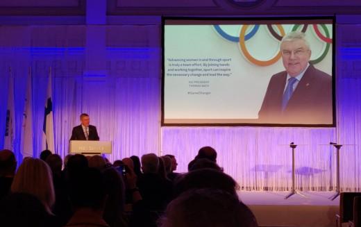 """OPES al """"New Leaders Forum"""" di Helsinki sulla parità di genere"""