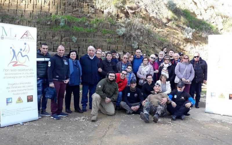 """Appuntamento con """"Non Solo Assistenza"""" allo Shooting Club Maccaluba di Aragona"""