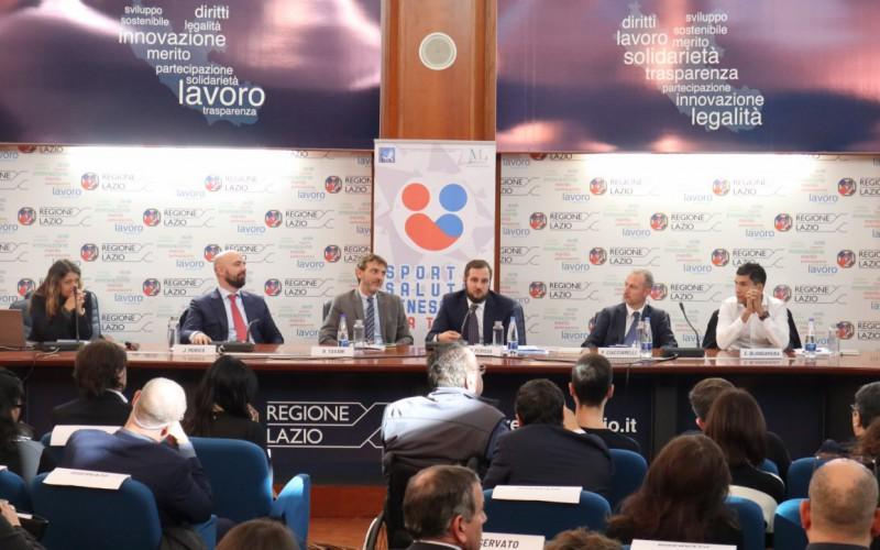 Presentato In Regione Lazio Il Progetto Sport E Salute Benessere Per Tutti Opes