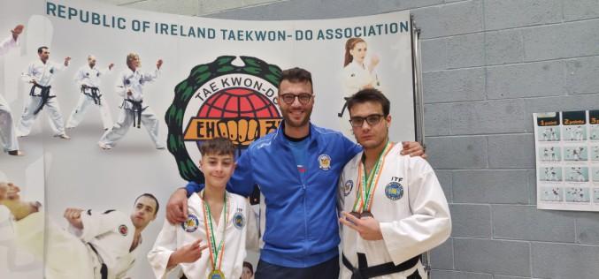 Taekwondo Itf: gli atleti della Fitsport Italia tornano da Dublino con 1 oro e 2 bronzi