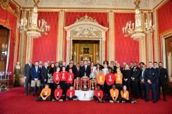 La FIRL a Buckingham Palace per il sorteggio della Coppa del Mondo di rugby a 13