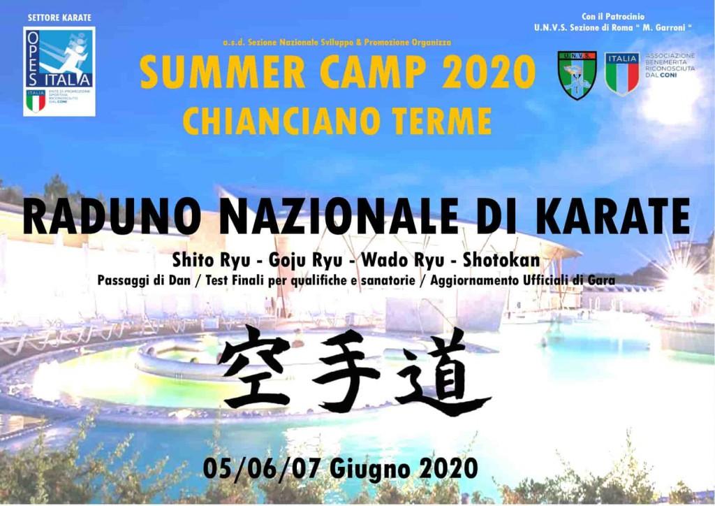 Summer Camp 2020 karate