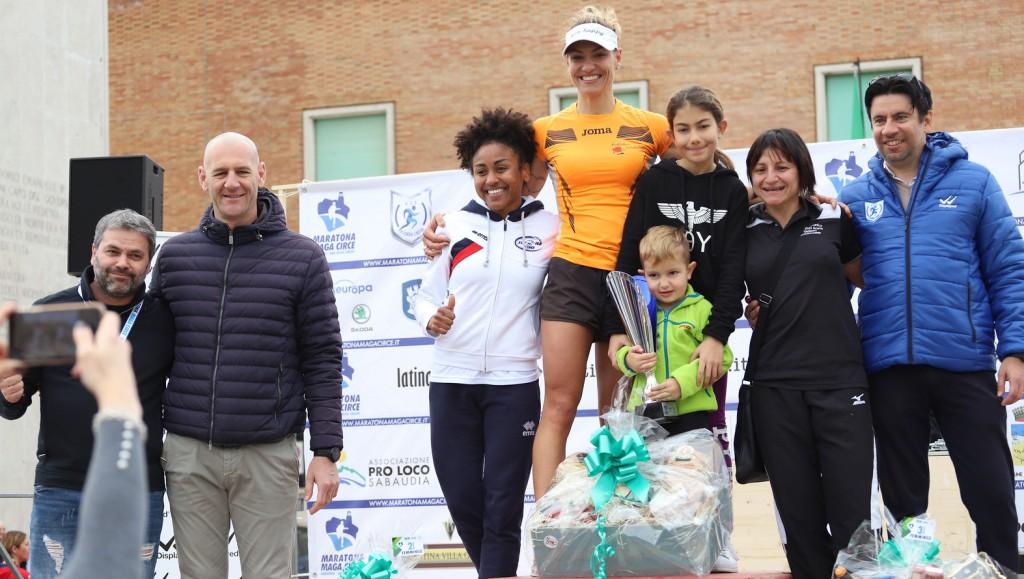 podio 13km femminile