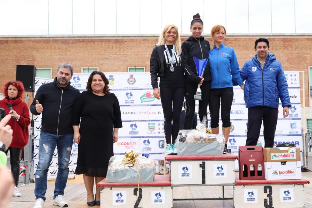 podio 28 km femminile