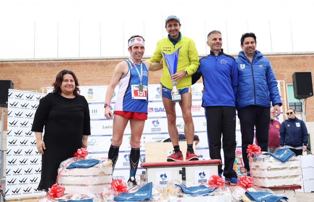 podio maratona maschile