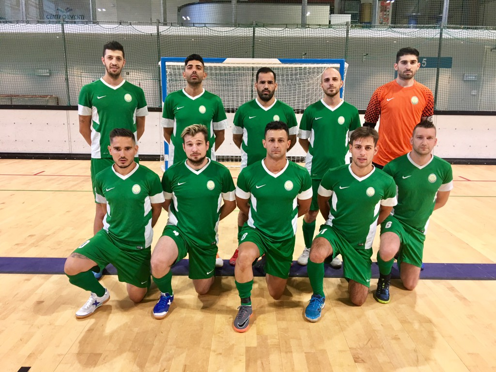 Lainate Futsal, terza classificata