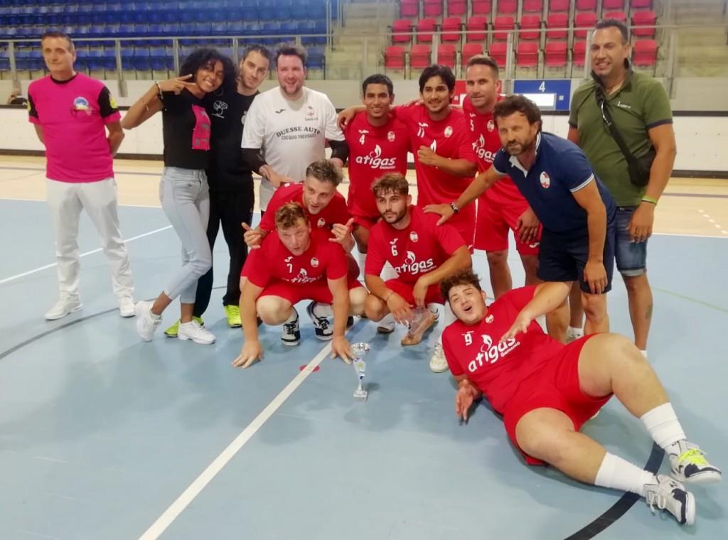 Ispra C5, squadra vincitrice dell'Italian-Swiss Supercup 2020