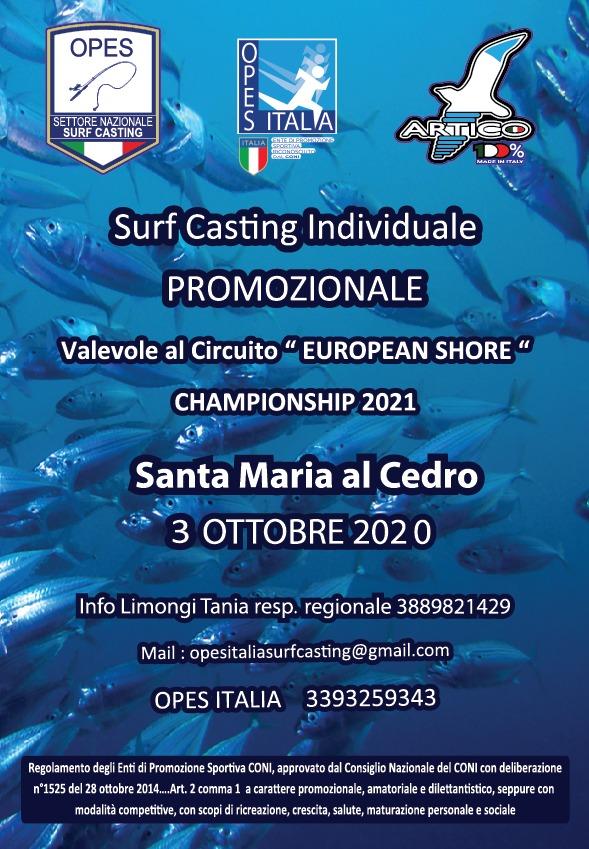 """Surfcusting, a settembre e ottobre le selettive per il Circuito """"European Shore"""""""