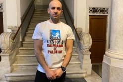 Da Genova a Roma a piedi per lo sport, Ercole Battistone è arrivato nel Lazio
