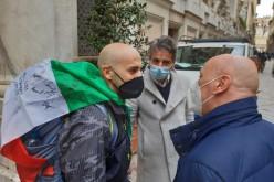 Il calore del mondo dello sport scalda il cammino di Ercole Battistone da Genova a Roma