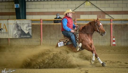 Equitazione: tutti i vincitori della prima tappa di Reining a La Peschiera