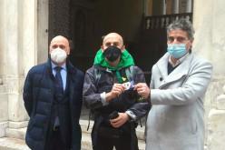 Il cammino per lo sport di Ercole Battistone continua al Parco del Peralto di Genova