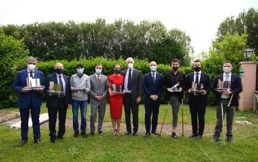 VII Premio Città di Roma: premiati Buccioni, Mariani, Calcaterra, Iannuzzi, Progetti del Cuore, Roma Cares e Roma Volley Club