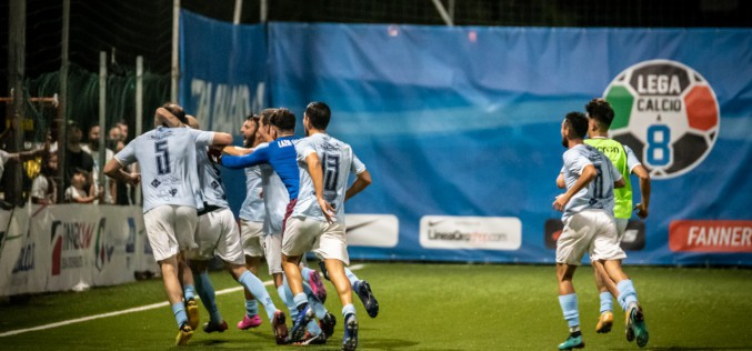 Vinto lo scudetto della Lega Calcio a 8, la Lazio cerca il double in Coppa contro la Totti Sporting Club