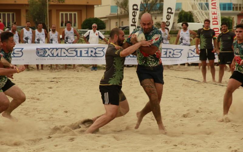 25 squadre alle finali di Beach Rugby. Successi per gli Stoned e le Sabbie Mobili