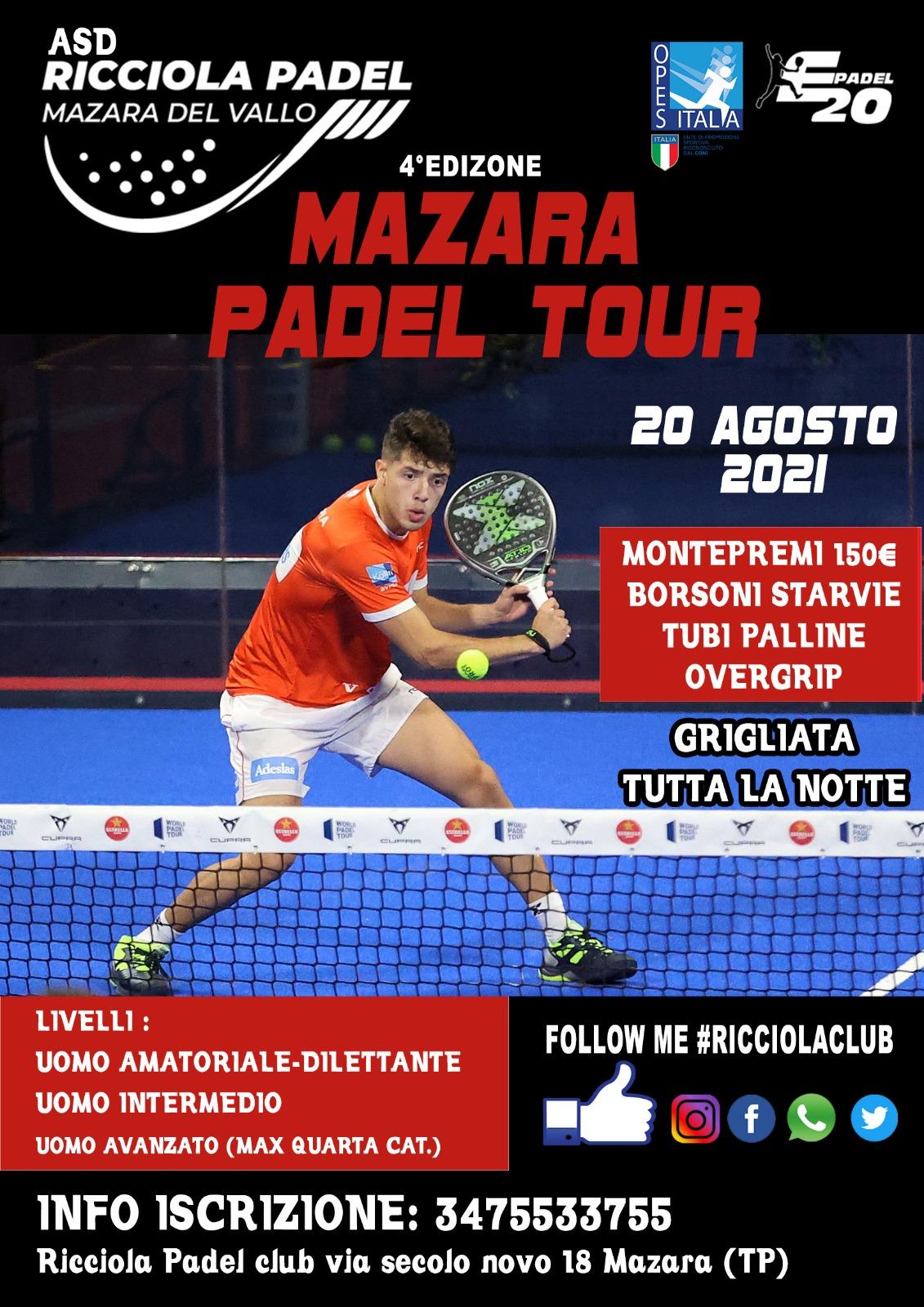 Torneo Padel Ricciola