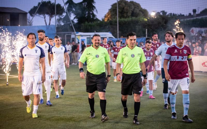 Riparte la Lega Calcio a 8 con tante novità. Tra i calciatori anche Davide Moscardelli