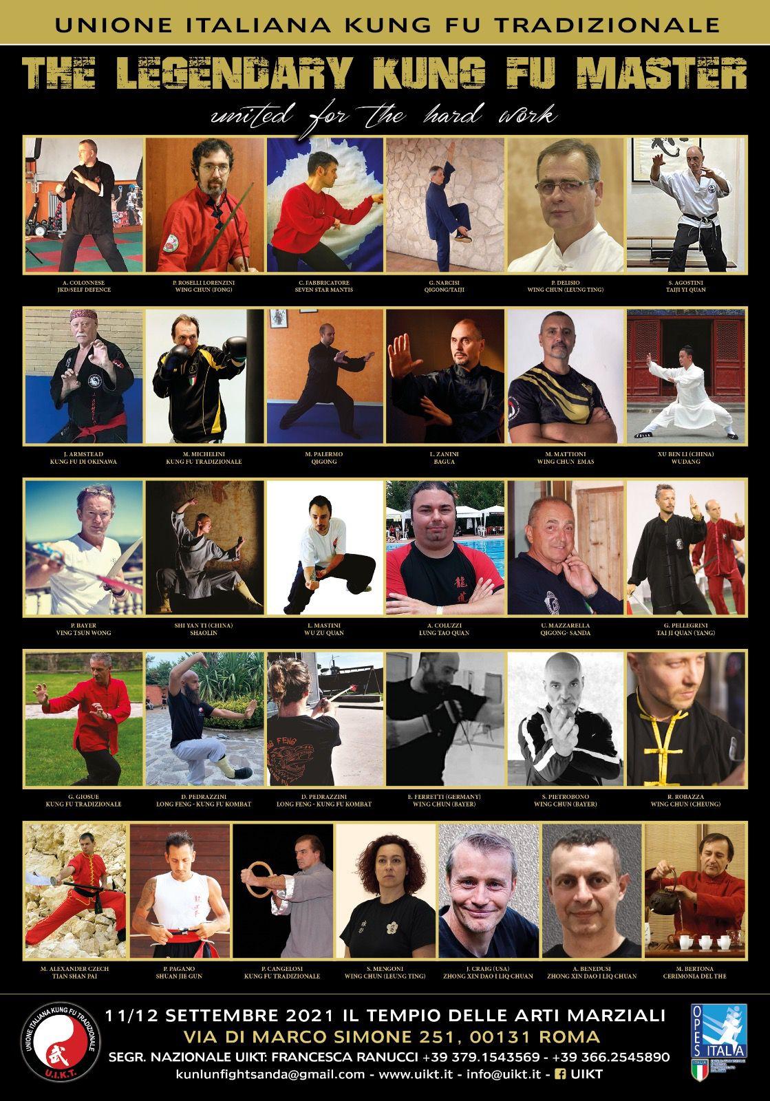 IMAD Area Tradizione Kung Fu Cina