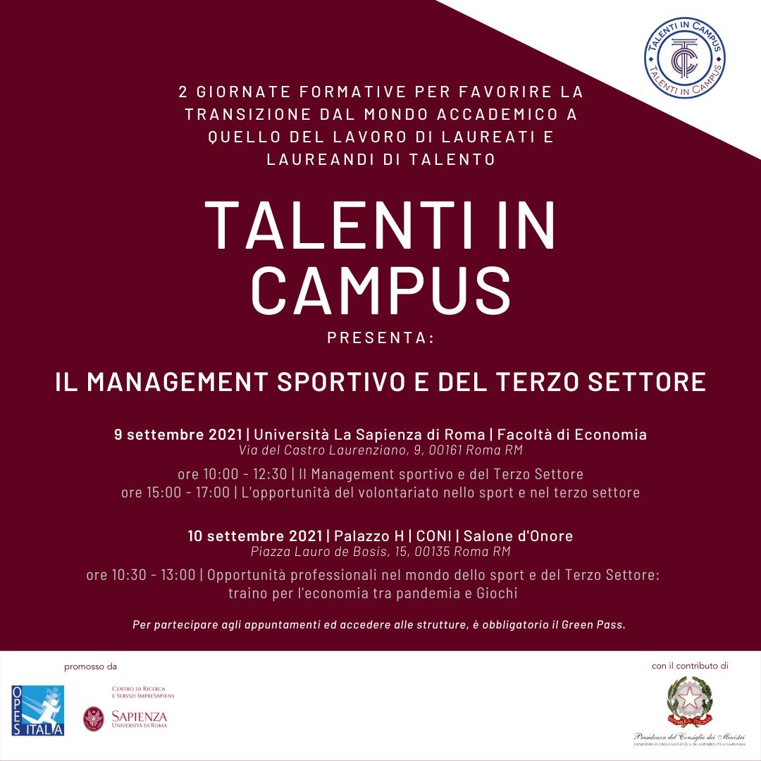 Talenti in Campus promo sponsorizzata (3)
